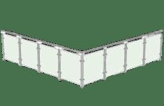 L-shaped Balustrades