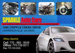 sparkles auto care copy