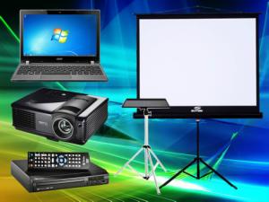 Registro SP aluguel de Datashow, Projetor e Telão Locação.