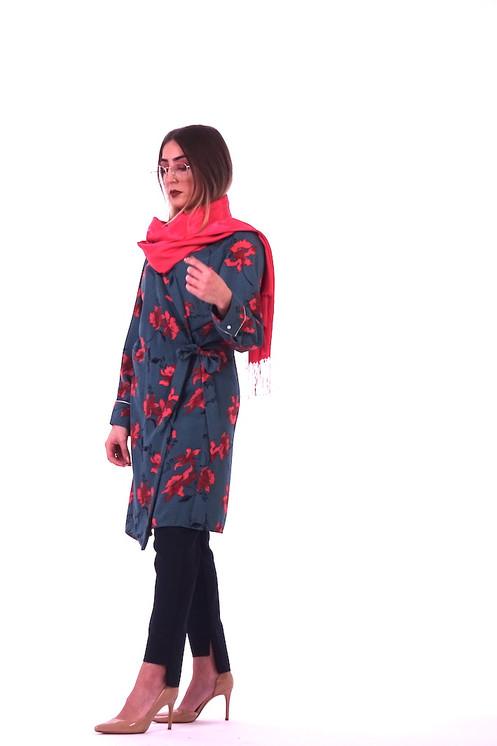 meilleure vente comment trouver gamme exceptionnelle de styles Tunique portefeuille à imprimé à fleurs