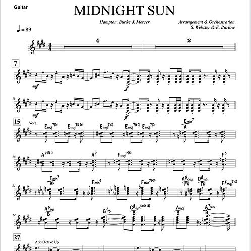 Midnight Sun - Jazz Group Arrangement