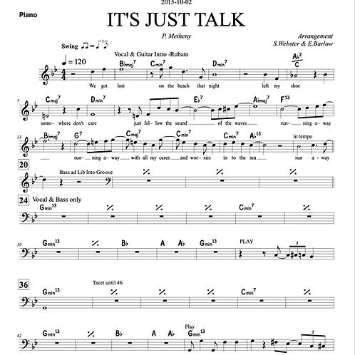 It's Just Talk - Arrangement