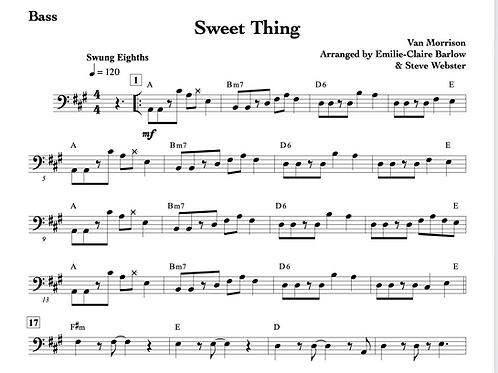 Sweet Thing - Arrangement/Transcription