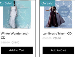 Holiday CD Sale