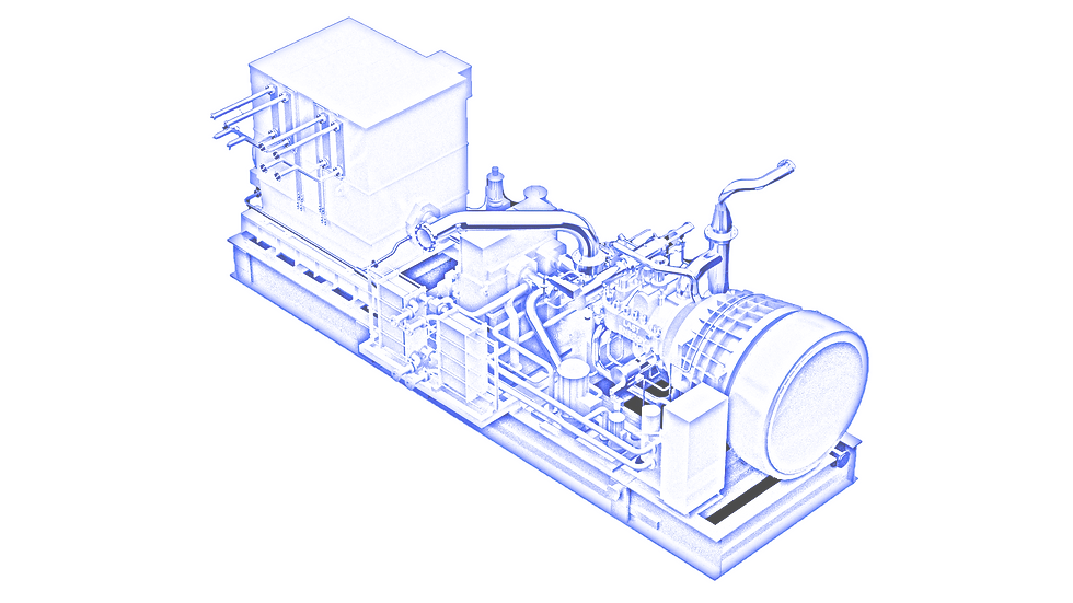 isometric turbine