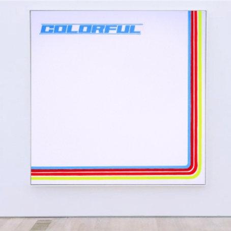 Colorful 130 x 130 cm