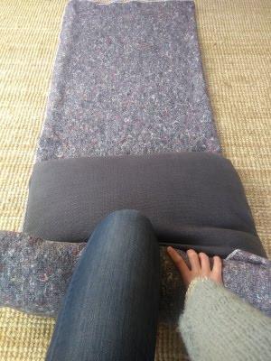 Alternatief voor een yoga bolster zelf maken