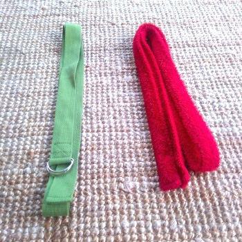 Alternatieven voor een yoga riem of belt