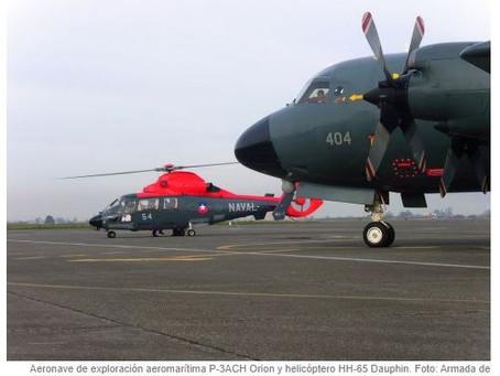 AEROMAC: Via Infodefensa - La armada de Chile realizara pruebas y overhaul a extintores de motor.