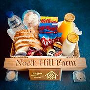 Welcome breakfast hamper_