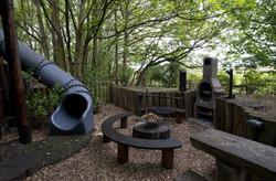 Fire Pit & Slide
