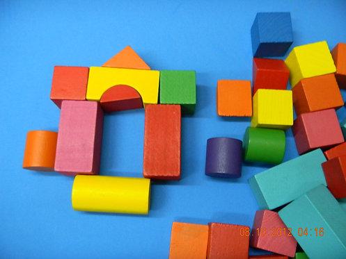 Rainbow Building Blocks