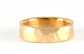 Remodelling and Redesigning old gold into a new ring by HR Jewellery Designs in West Sussex / Hampshire