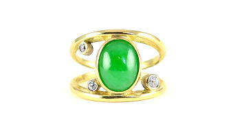 Reusing inherited gold   Ring remade   HR Jewellery Designs Chichester, West Sussex/ Hampshire