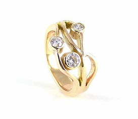 sentimental inherited jewellery remodelled and redesigned by HR Jewellery Designs West Sussex
