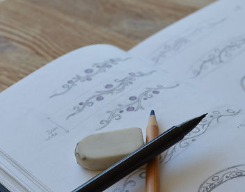 jewellery design sketches from freelance jewellery designer holly richardson
