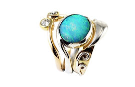 New remodelled jewellery from unworn old gold by HR Jewellery Designs in West Sussex / Hampshire