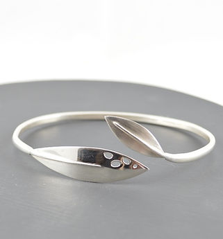 Olea/ Olive Leaf Jewellery Collection by HR Jewellery Designs Hampshire/ West Sussex