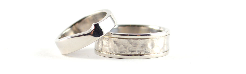 shaped and hammered wedds.jpg