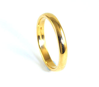 Remodelled Wedding Ring using Sentimental Gold. Handmade Remodelled Jewellery by HR Jewellery Designs in West Sussex / Hampshire Area