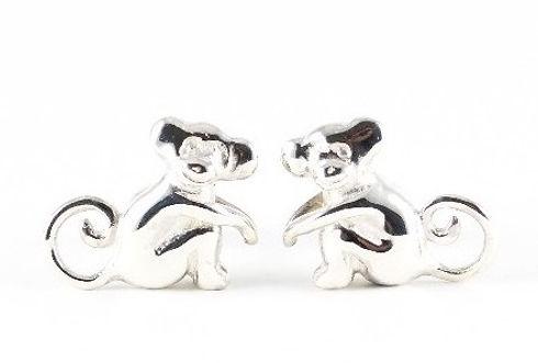 Bespoke handmade Monkey Cufflinks   Handmade jewellery commissions by HR Jewellery Designs, Hampshire