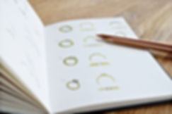 Bespoke ring designs for a ring remodel by HR Jewellery Designs |Based around West Sussex