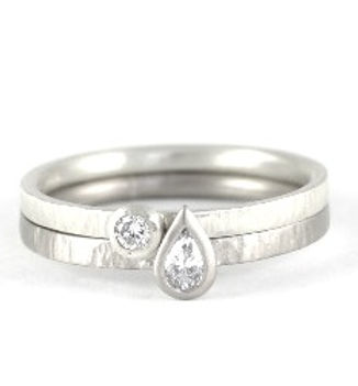 Handmade diamond engagement rings in West Sussex, hampshire by HR Jewellery Designs.