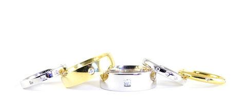 Handmade Diamond Set Wedding Rings by HR Jewellery Designs, West Sussex, Hampshire