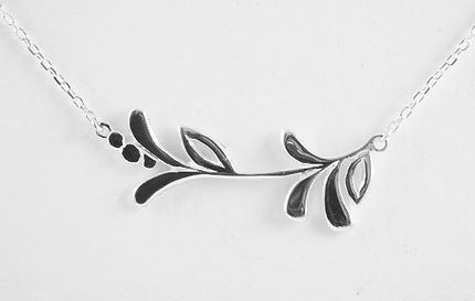 Bespoke designed Mother of the groom necklace by HR Jewellery Designs bespoke jeweller Hampshire