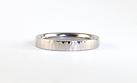Hammered Platinum handmade ladies wedding ring | HR Jewellery Designs West Sussex, Handmade in hampshire