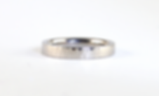 Wedding Ring Commission | Platinum handmade Wedding Ring by HR Jewellery Designs Hampshire