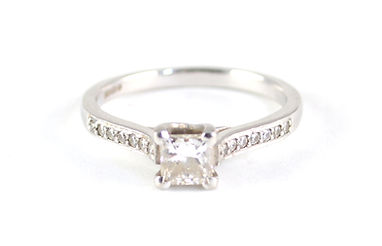 Engagement Ring before jewellery Redesigning and jewellery remodelling chichester, west sussex