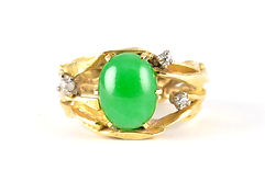 Inherited Jade ring to be remodelled and redesigned by HR Jewellery Design Chichester, West Sussex
