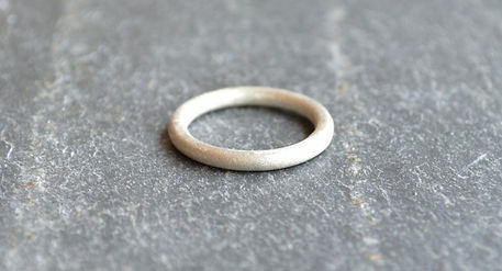 Shooting Star Silver Halo Ring handmade by HR Jewellery Designs | Hampshire Jewellery Designer