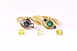 Loose Stones for Jewellery Remodelling with HR Jewellery Designs Southsea, Hampshire