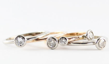 Holly Richardson remodelled jewellery stacking rings west sussex hampshire