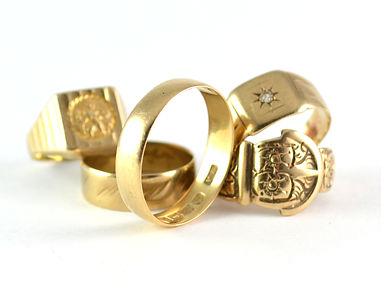 Old gold used to be melted down and remade into a new ring | HR Jewellery Designs West Sussex Jewellery Designer
