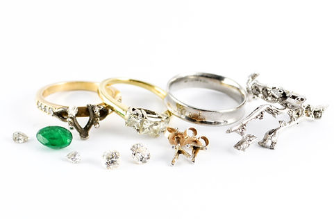remodelling sentimental jewellery before picture   HR Jewellery Designs