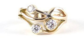 Remodelled and redesigned diamond ring | HR Jewellery Designs | Southsea Hampshire