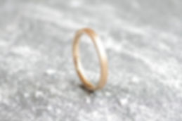 HR Jewellery Designs 9ct Yellow Gold ladies 2mm satin finish Stardust Wedding Band | West Sussex / Hampshire