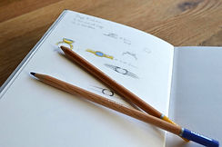 HR Jewellery Designs bespoke ring remodel sketches | Jeweller in Hampshire / West Sussex