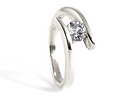 HR Jewellery Designs Platinum and diamond engagement ring, handmade wedding rings and engagement rings in west sussex, handmade engagement rings in hampshire