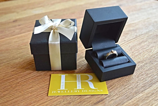 How you piece of jewellery from HR Jewellery Designs will arrive