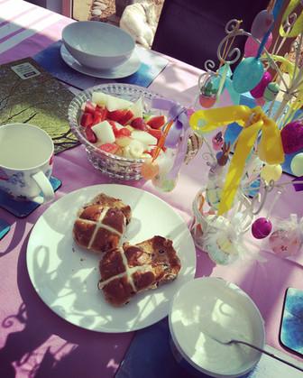 Easter Breakfast Alfresco