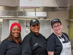 Plate it Up! Catering with Second Helpings student Mary