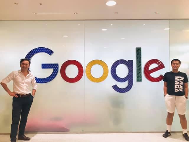 グーグル日本法人にて友人のシリコンバレー出身アメリカ人の同社幹部と