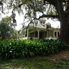Rip Van Winkle Gardens in New Iberia, Louisiana