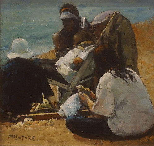 Study for Beach Party, Broughty Ferry