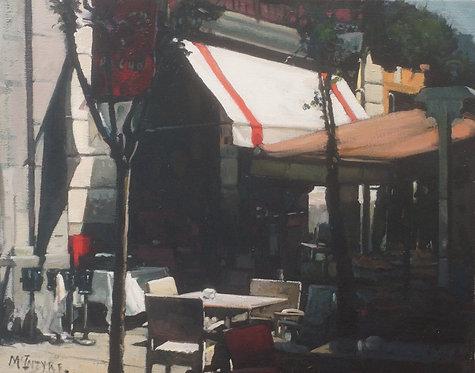 Early Sunday Morning, Cafe, Madrid