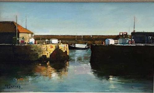 Study for Low Winter Sun - Arbroath Harbour